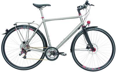 Maxcycles - Titanium Rohloff GTS