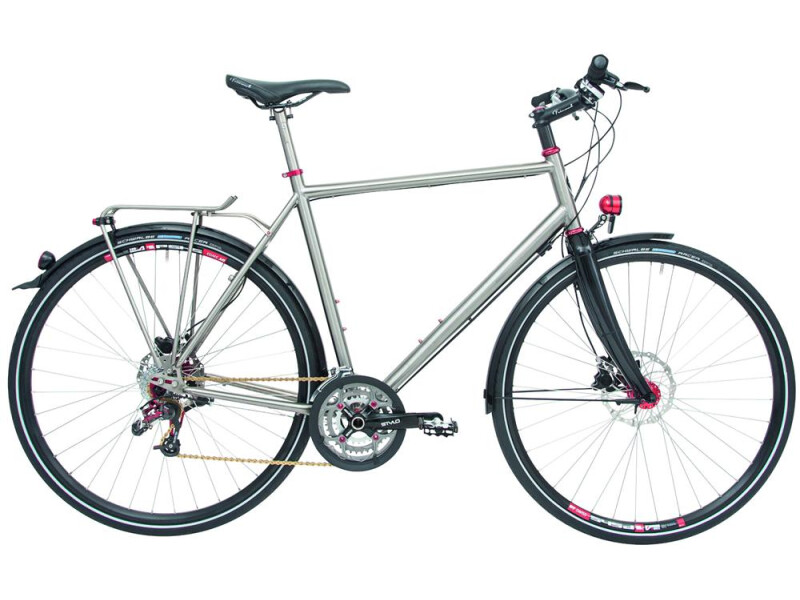 Maxcycles Titanium Rohloff GTS