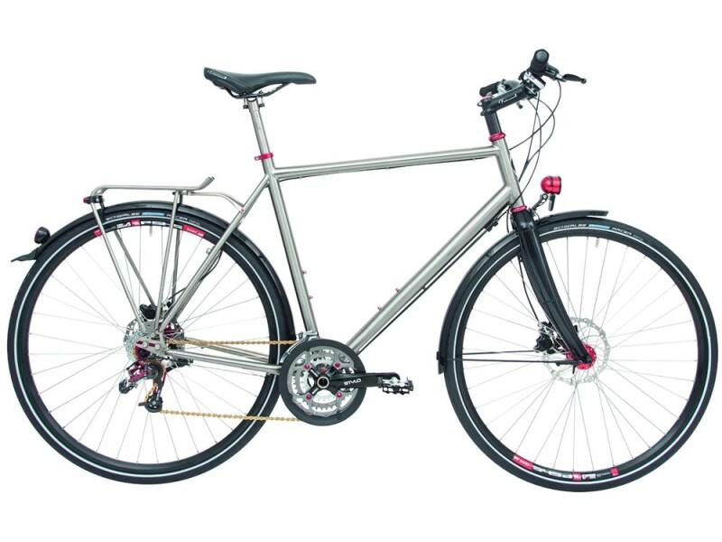 Maxcycles Titanium Rohloff Evo 1