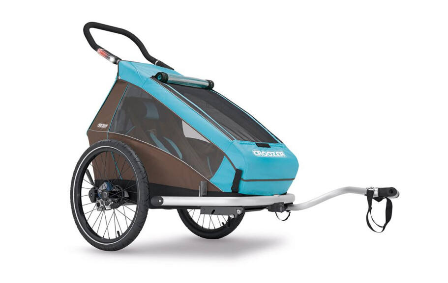 Croozer Kid Plus for 1 Sky Blue