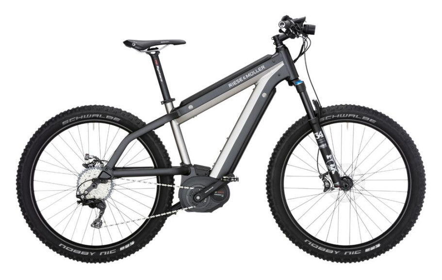 Riese und Müller R-M Supercharger mountain 1000Wh Nyon Rh46 silber