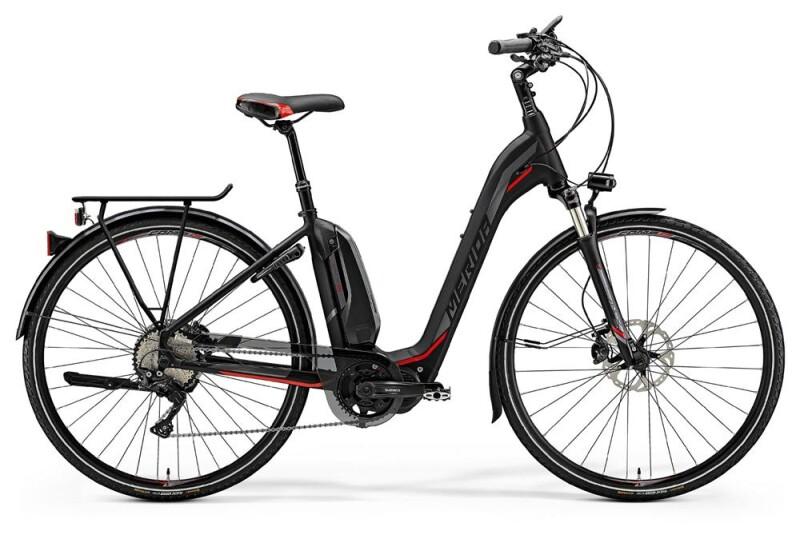 MeridaE-Spresso City 900EQ, S 45cm, schwarz/rot