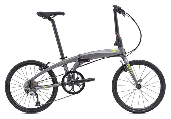 TERN - Verge D9 Gunmetal/GreenRed/Black
