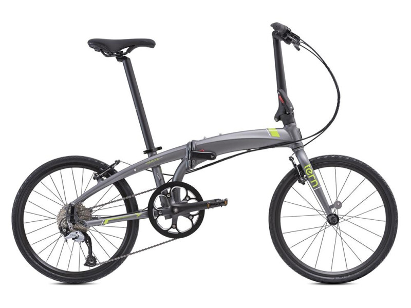 Tern Verge D9 Gunmetal/GreenRed/Black