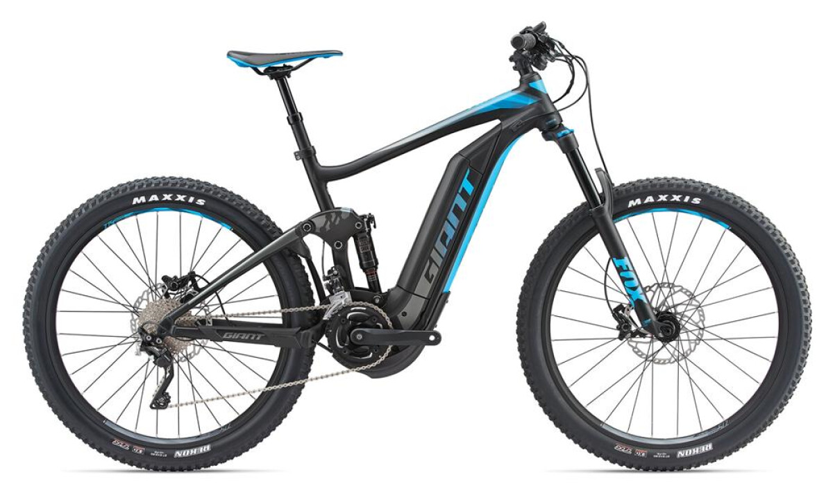 GIANT Full-E+ 1.5 Pro LTD Black/Blue Details