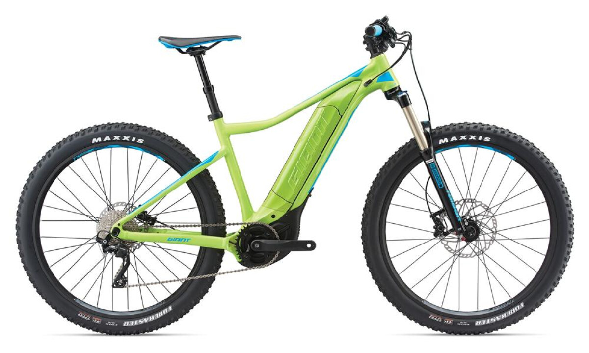 GIANT Dirt-E+ 2 Pro Green/Blue Details