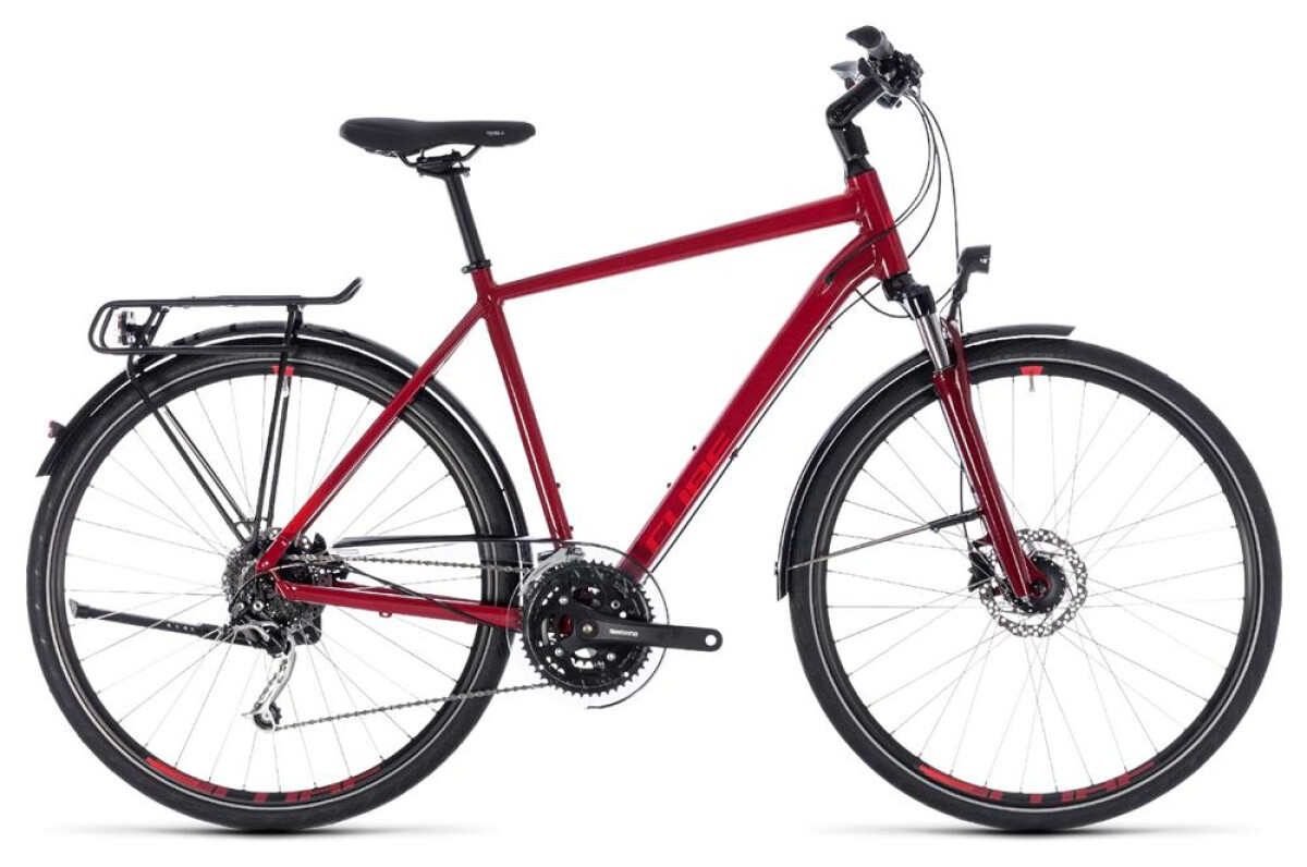 Cube Touring EXC darkred´n´red Details
