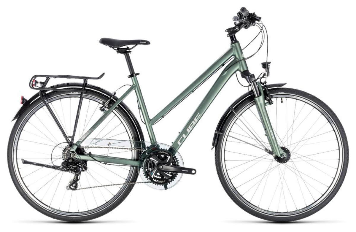Cube Touring green´n´silver Details