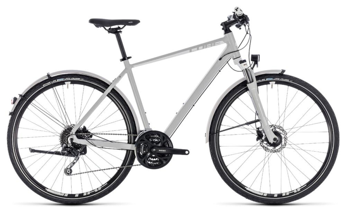 Cube Nature Pro Allroad bright grey´n´white Details