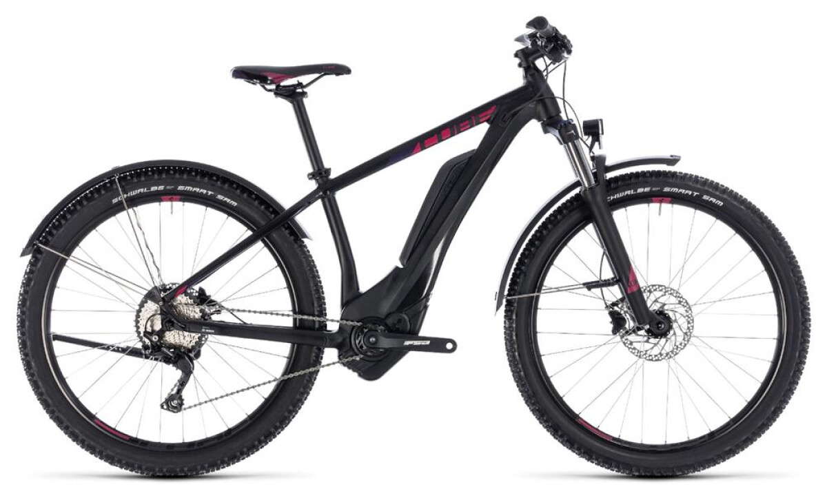 Cube Access Hybrid Pro Allroad 400 black´n´berry Details