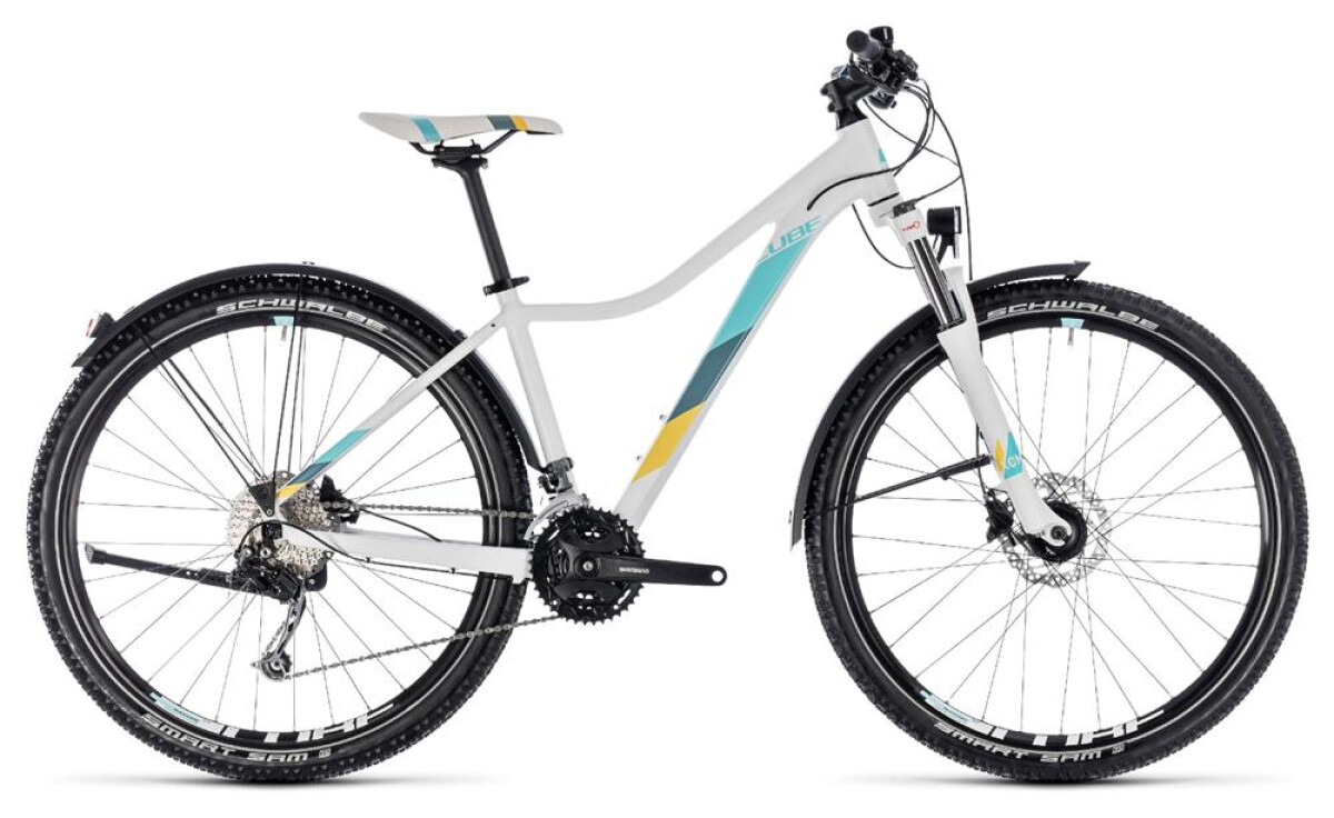 Cube Access WS Pro Allroad white´n´blue Details