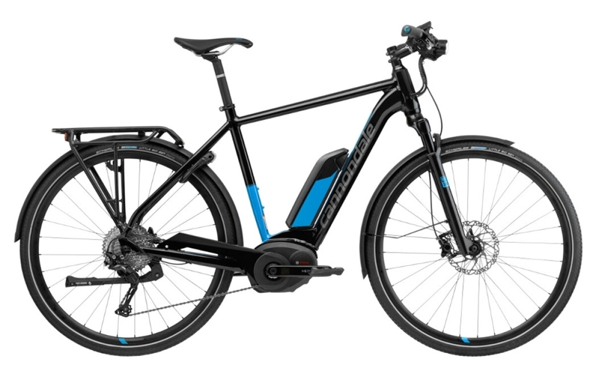 Cannondale Tesoro Neo 1 BLK Details