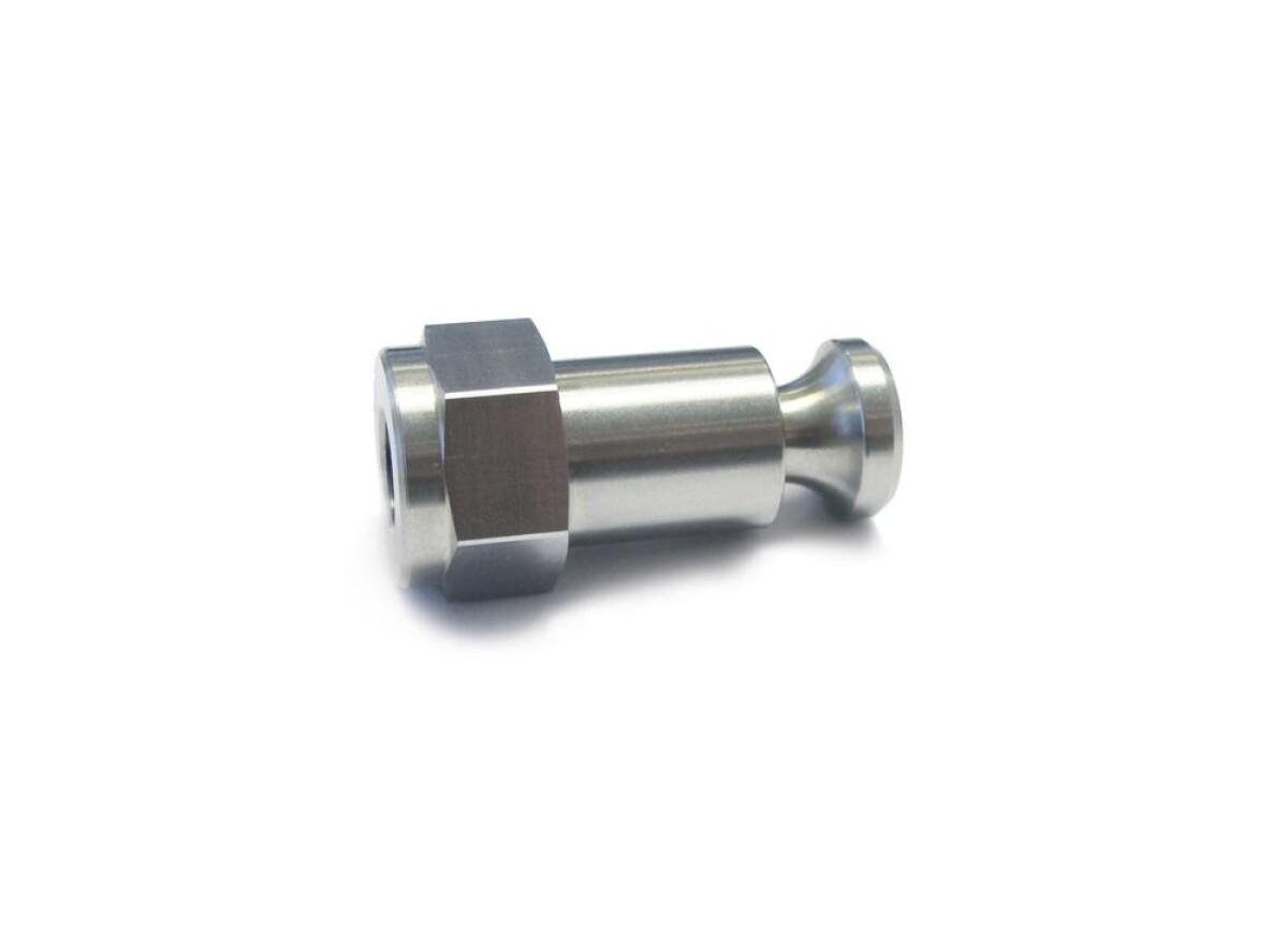Croozer Kupplung Click & Crooz® Achsmutter 3/8 x 26 Details