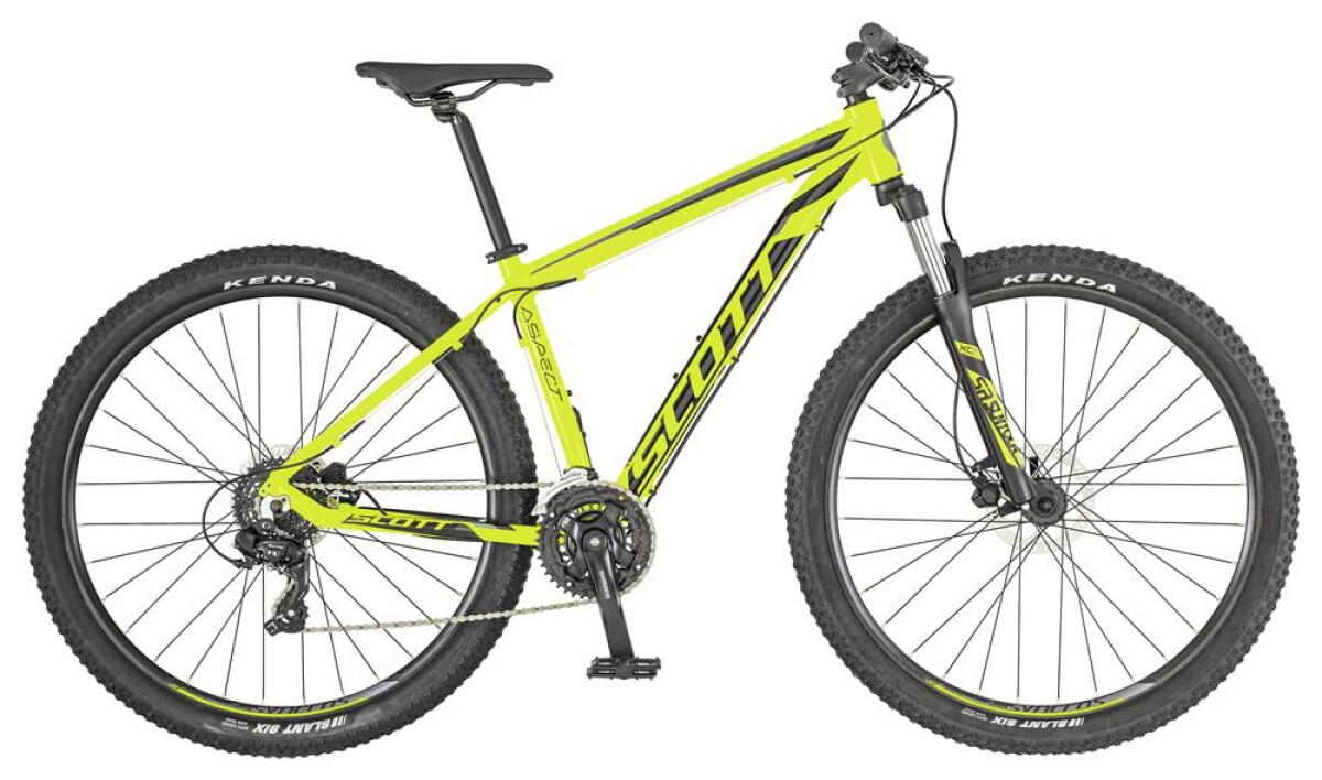 Scott ASPECT 760 yellow Details