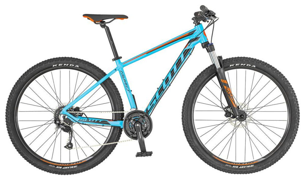 Scott ASPECT 750 light blue Details