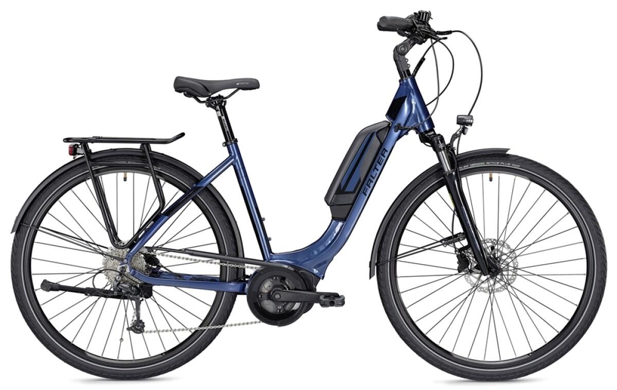 Falter E 9.0 RD 500 Wh blau/schwarz Details