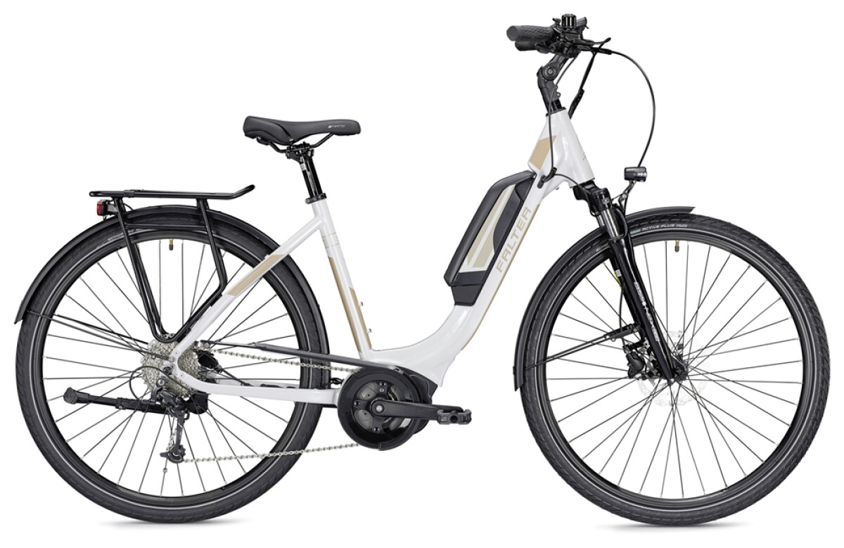 Falter E 9.0 RD 500 Wh weiß/champagner Details