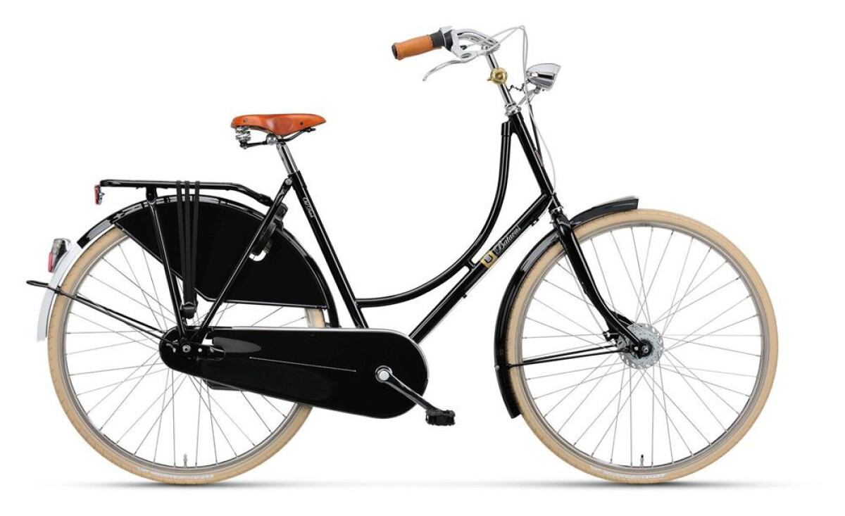 Batavus Old Dutch Deluxe Nostalgie black Details