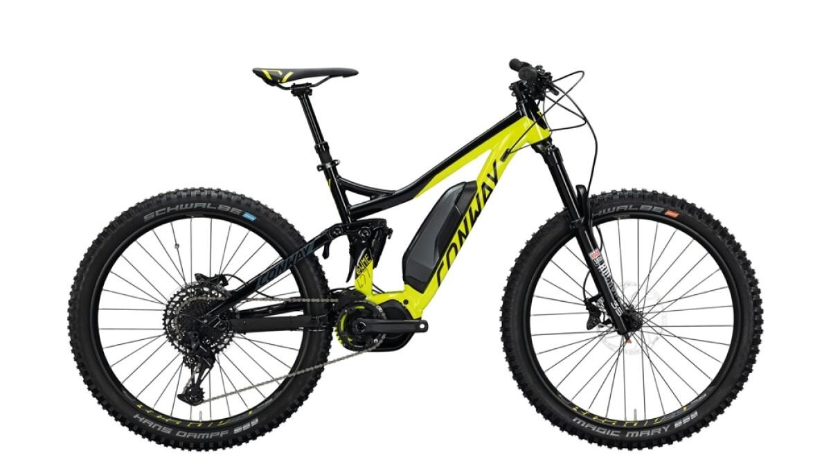 Conway eWME 427 schwarz,gelb Details