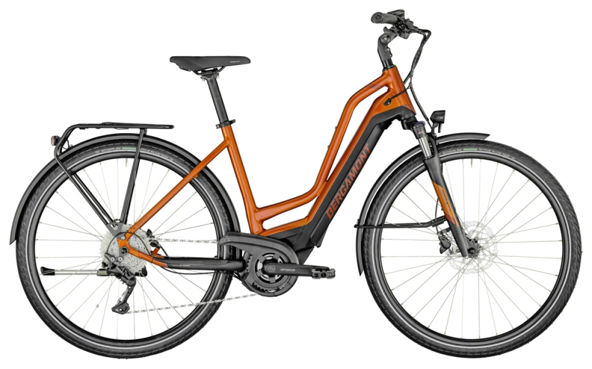Bergamont E-Horizon Edition Amsterdam orange Details