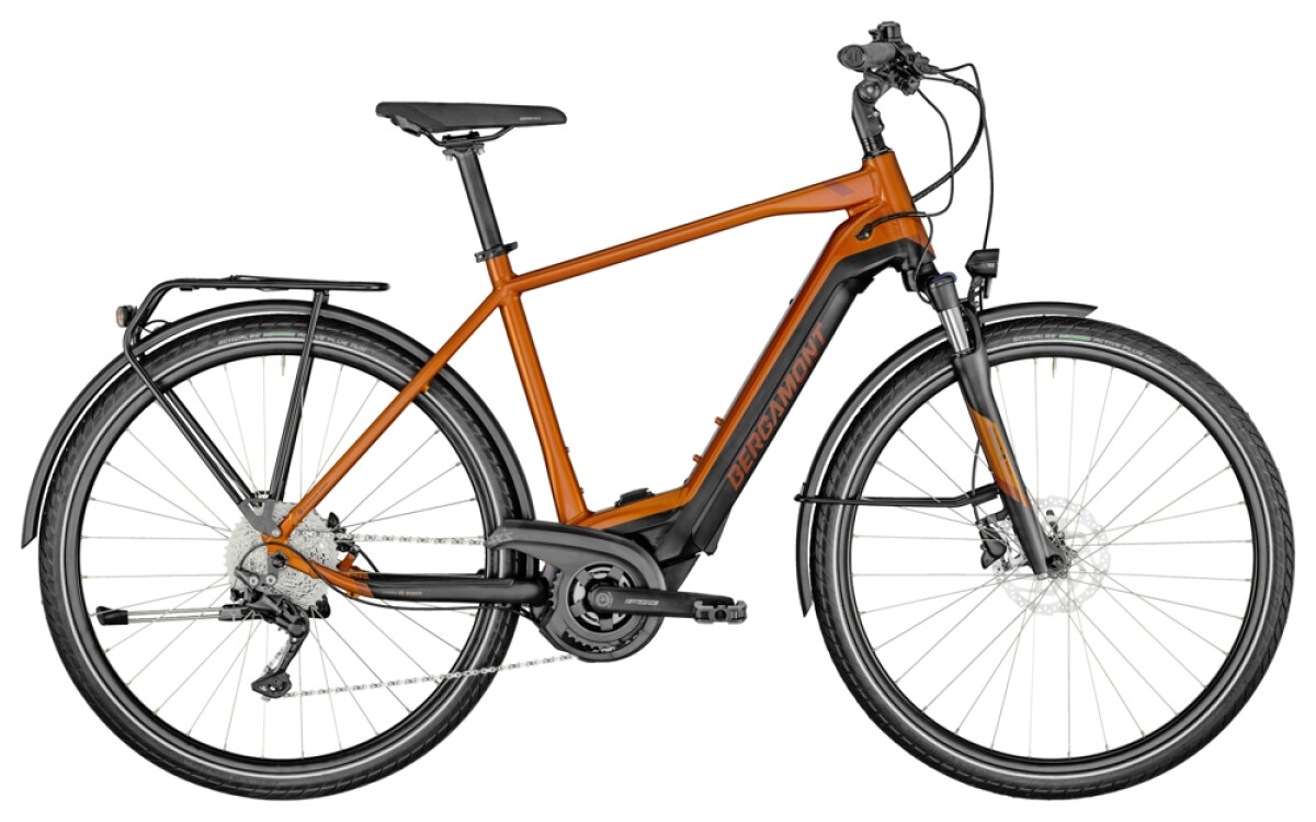 Bergamont E-Horizon Edition Gent orange Details
