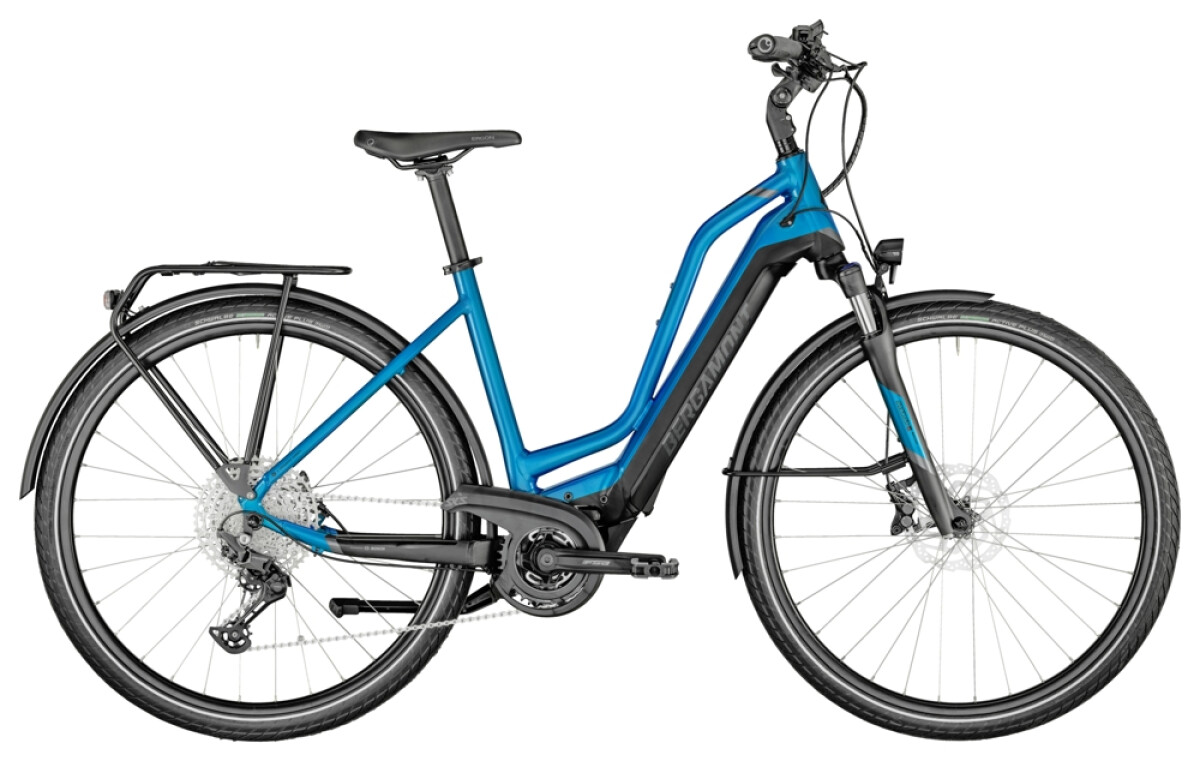 Bergamont E-Horizon Expert Amsterdam blue Details