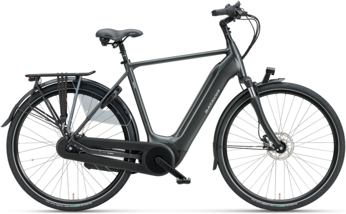 Batavus Finez E-go Power 625 Herren black matt Details