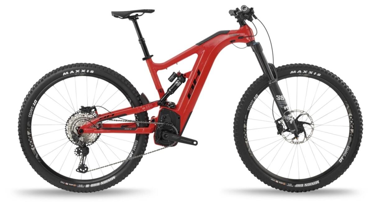 BH Bikes ATOMX CARBON LYNX 6 PRO-S Red-Black Details