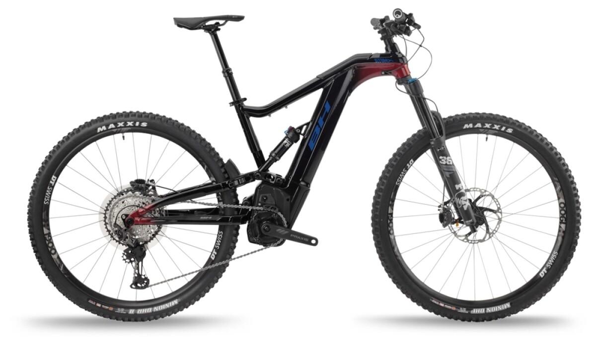 BH Bikes ATOMX LYNX 5.5 PRO-S Black-Red-Blue Details
