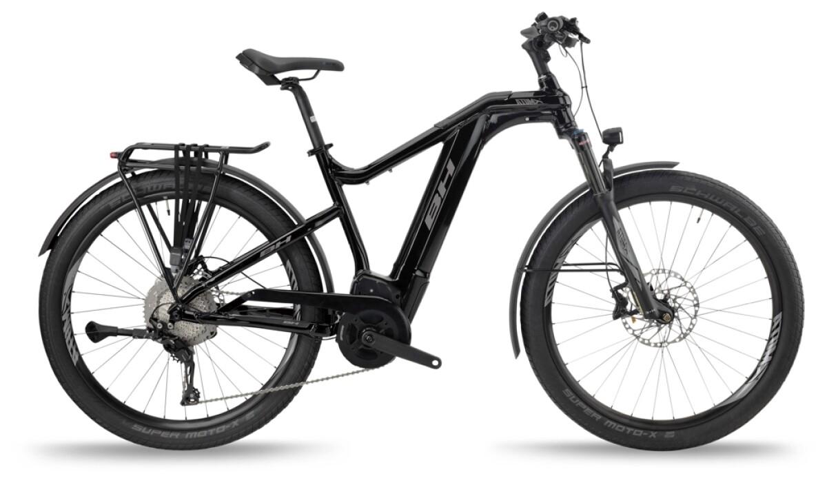 BH Bikes ATOMX CROSS PRO Black-Silver Details