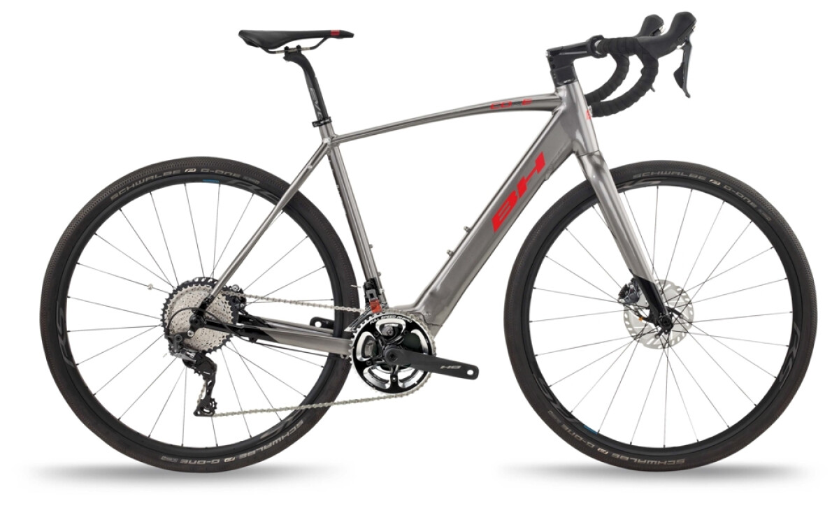 BH Bikes CORE GRAVELX 2.4 Grey-Black-Red Details