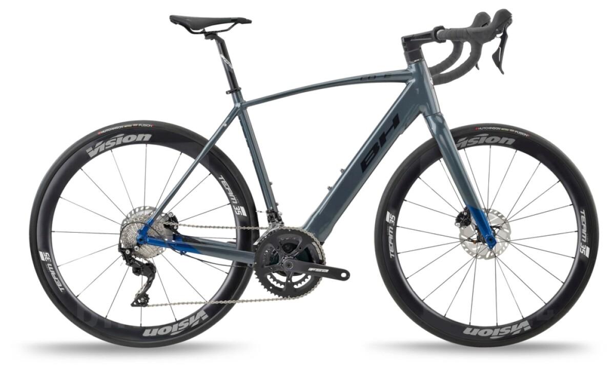BH Bikes CORE RACE 1.4 Grey-Blue-Black Details