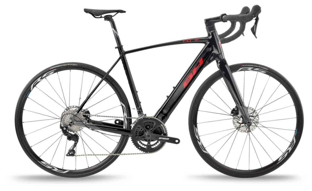 BH Bikes CORE RACE 1.2 Black-Grey-Red Details