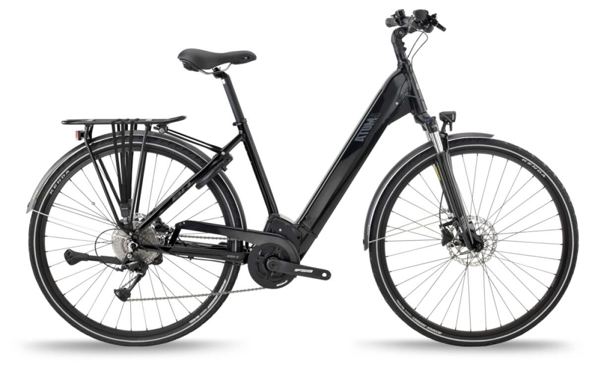 BH Bikes ATOMS CITY WAVE PRO Black-Silver Details