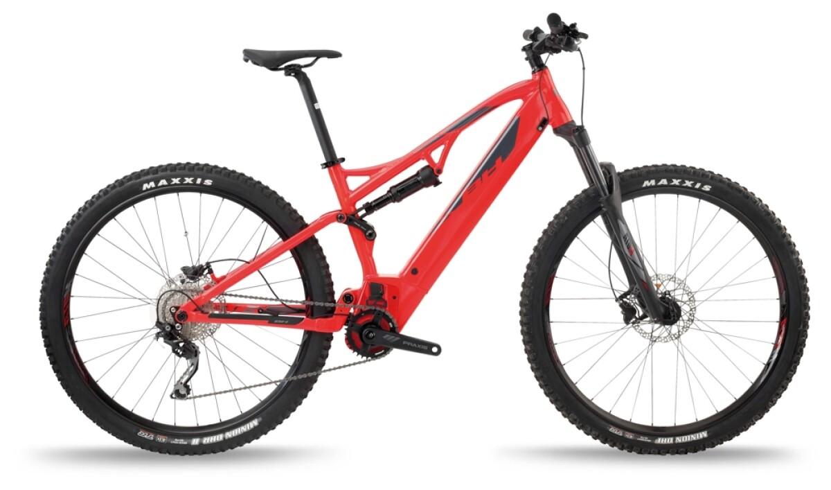 BH Bikes ATOM LYNX 5.5 Red-Silver Details