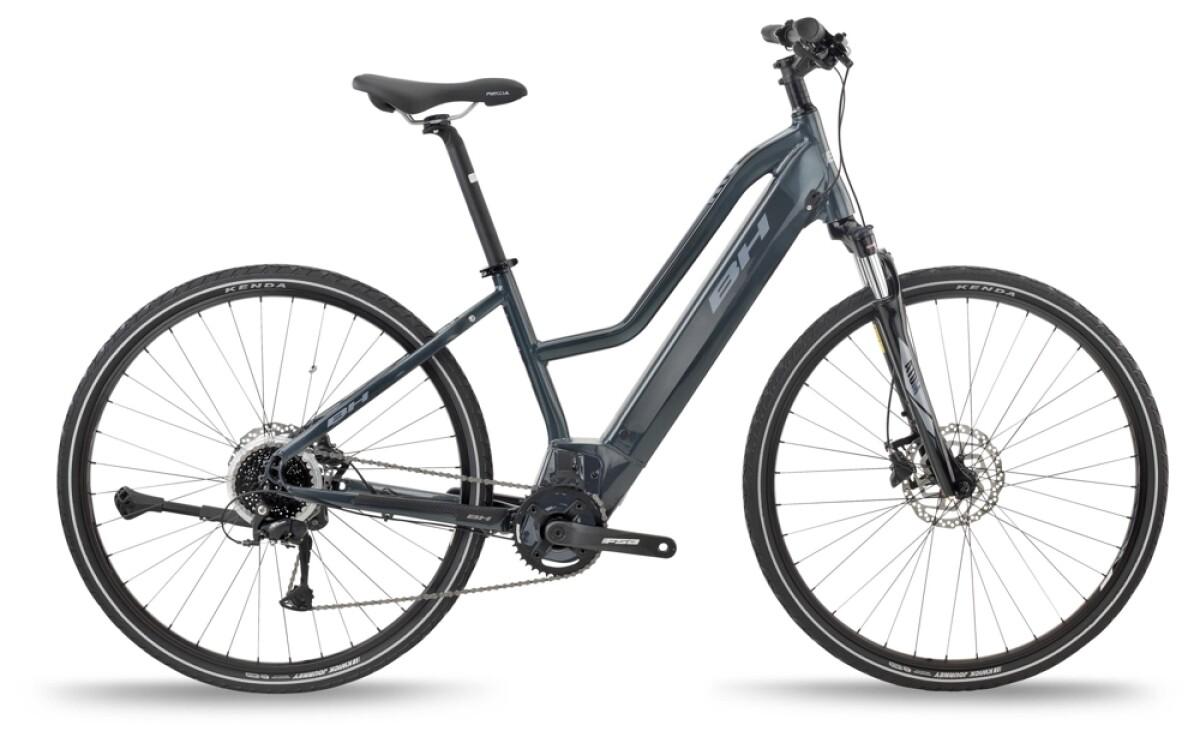 BH Bikes ATOM JET Grey-Silver Details