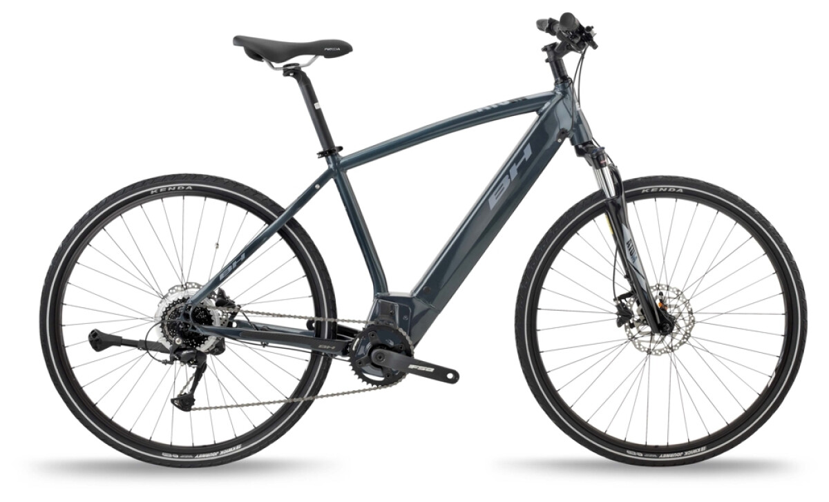 BH Bikes ATOM CROSS Grey-Silver Details