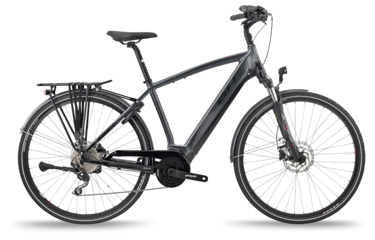 BH Bikes ATOM CITY PRO Grey-Black-Red Details