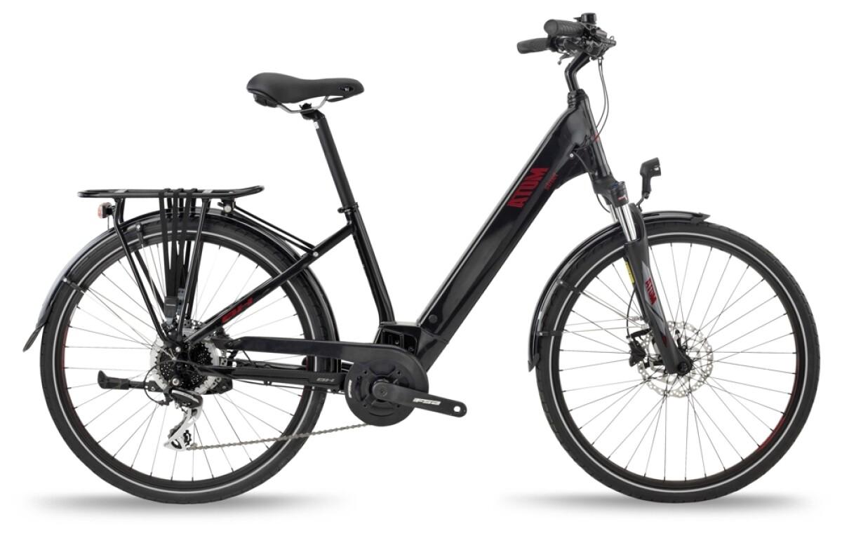 BH Bikes ATOM STREET Black-Red Details
