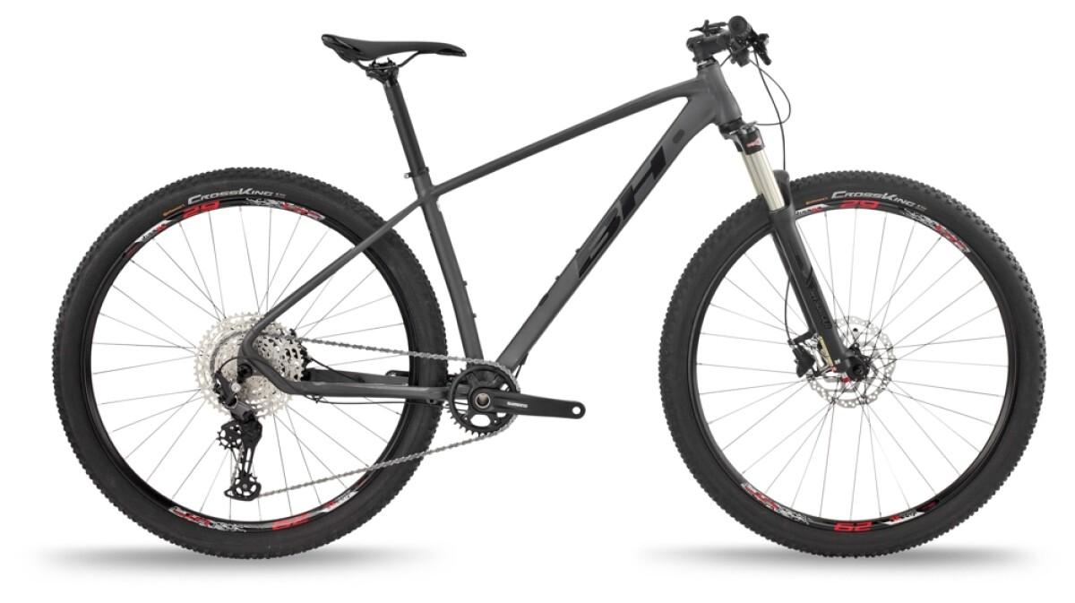 BH Bikes EXPERT 4.0 Blue-Red-Grey Details