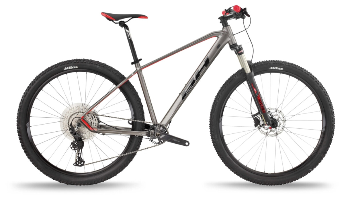 BH Bikes SPIKE 3.0 Blue-Red-Blue Details