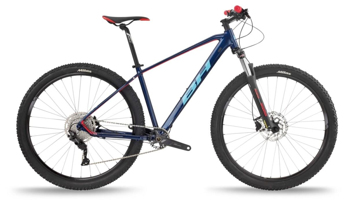 BH Bikes SPIKE 2.5 Blue-Red-Blue Details