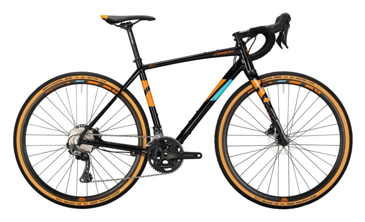 Conway GRV 800 Alu black / orange Details