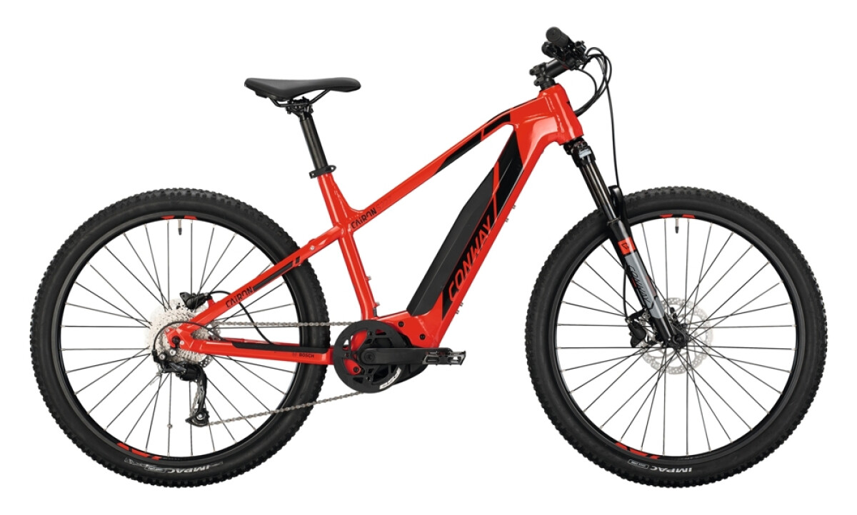 Conway Cairon S 227 Trapez red / black Details