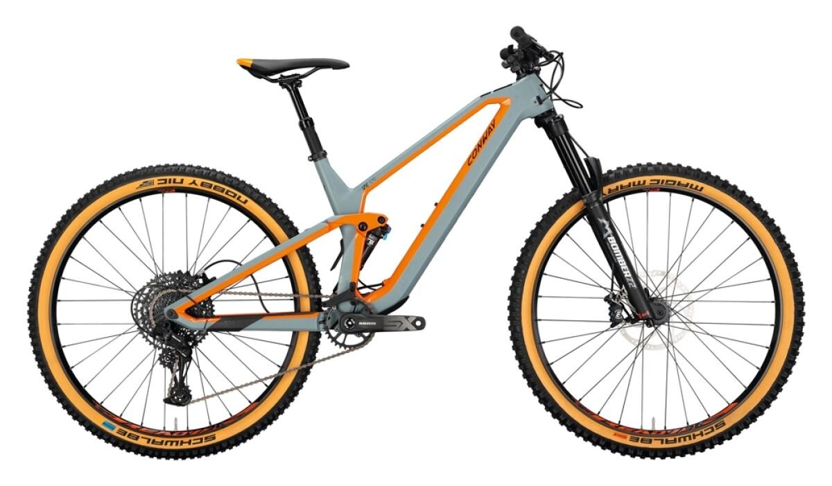 Conway WME 329 grey matt / orange Details