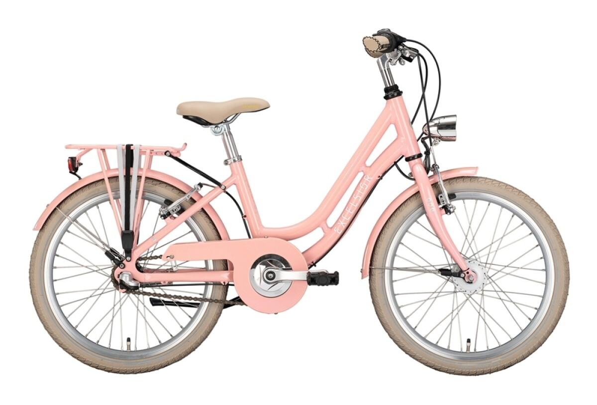 Excelsior Swan-Retro Alu Youth rosa Details