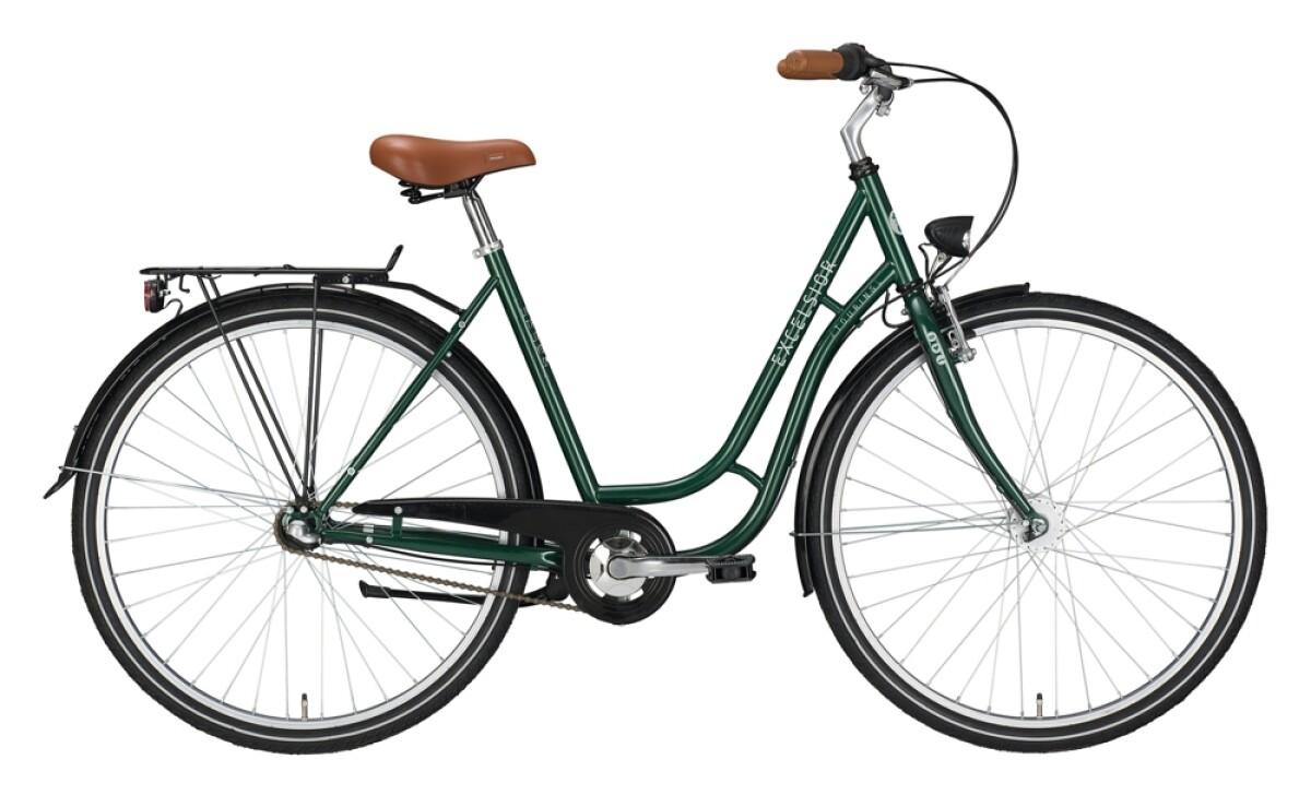 Excelsior Touring ND grün, braun Details