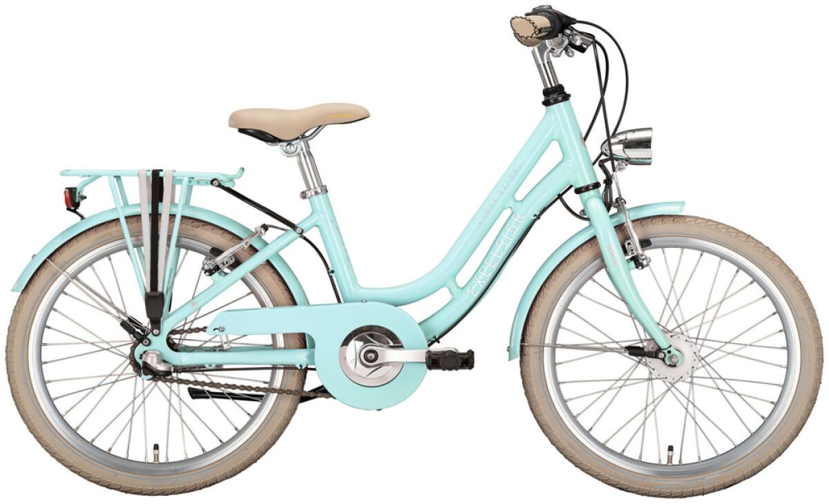 Excelsior Swan-Retro Alu Youth grün Details