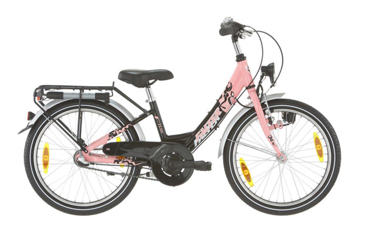Falter FX 200 Wave-ATB schwarz/pink Details