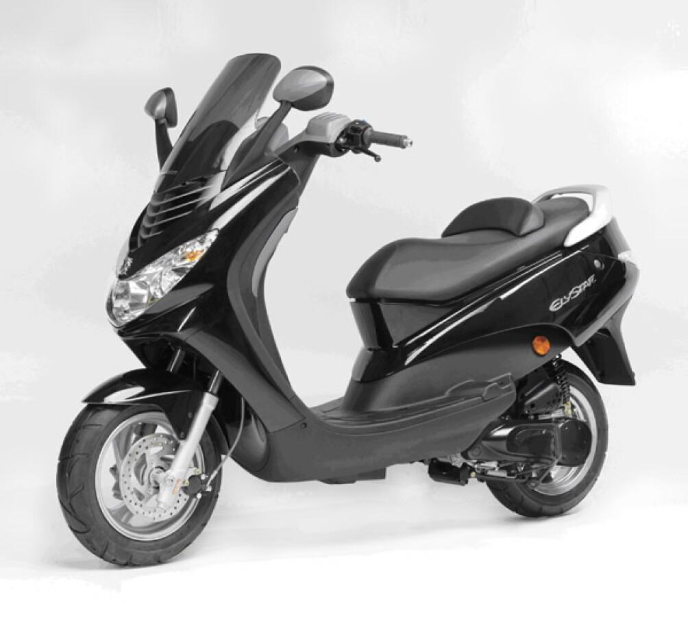 Peugeot Motocycles Elystar Details